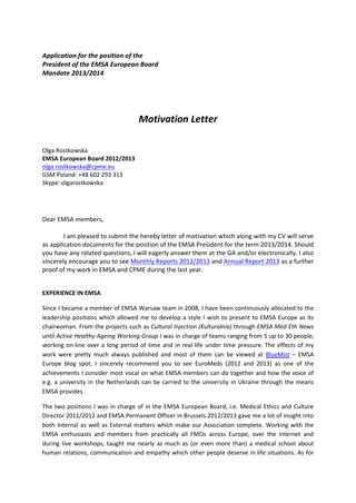 Cover Letter For A Research Technician Position