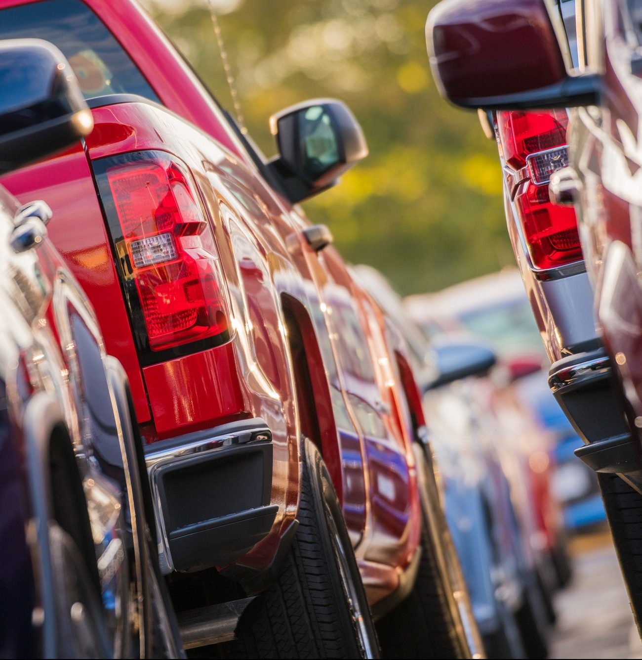 Parking Full of Cars